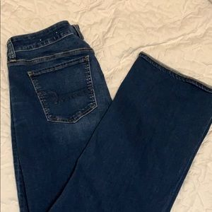 Never worn. American Eagle Bootcut jeans